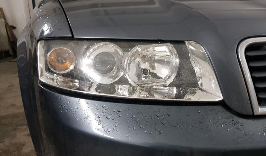 Reconditionare faruri - Audi A4 B6
