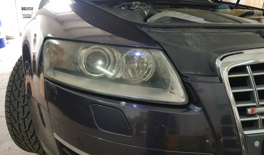 Headlight reconditioning - Audi A6 4F