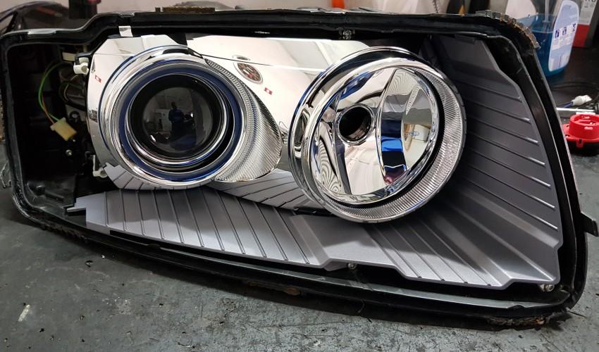 Reconditionare faruri - Audi A8