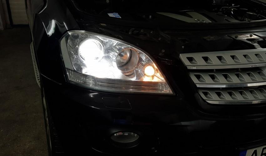 Reconditionare faruri - Mercedes ML