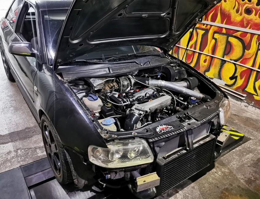 Audi A3 1.8T quattro - DSG - 541cp