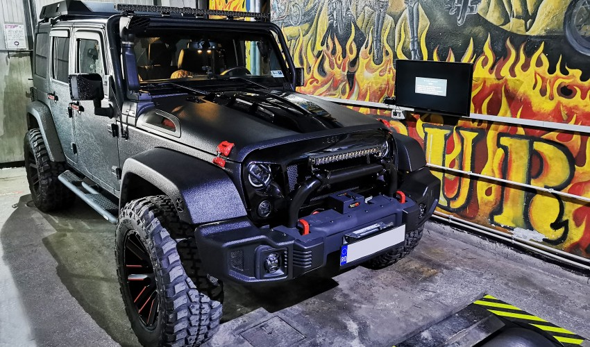 Jeep Wrangler 2.8 CRDI